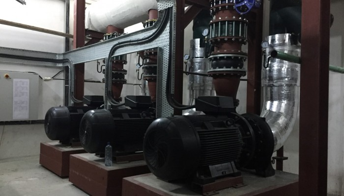 Chillers Secondary Pumps